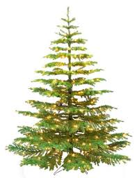 barcana 7 1 2 foot noble fir ready trim tree with 550