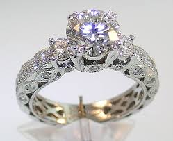vintage wedding ring sets for her wedding ideas