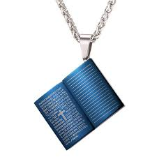 bible necklace holy bible necklace australian disciples