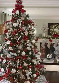 and silver tree decorations designcorner