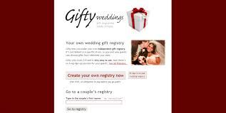 only wedding registry gifty weddings hackers