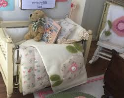 Miniature Crib Bedding Miniature Crib Etsy