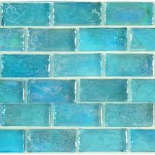 tiles blue glass subway tile kitchen blue glass subway tiles