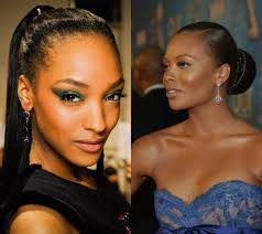slicked updo party hairstyles celebrities pinterest black