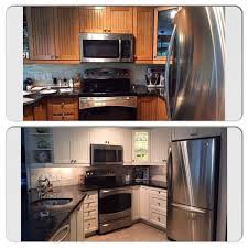 Easiest Way To Refinish Kitchen Cabinets Painting U0026 Staining Kitchen Cabinets Using Chalk Paint By Annie