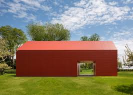 red barn by roger ferris partners houses artist retreat in ct