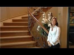 How To Decorate A Banister Design Tips How To Decorate A Turn Around Stair Youtube