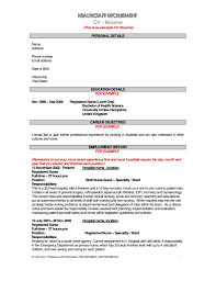 Sample Resume Australia by Best Resume Australia Free Resume Example And Writing Download