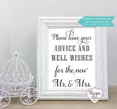 wedding well wishes 18 best wedding signs printable images on