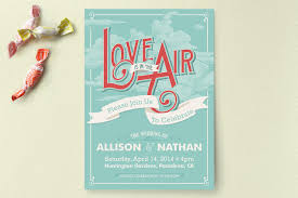 informal wedding invitations informal wedding invitations is in the air wedding