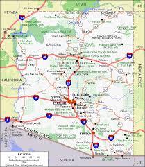 printable road maps road map of arizona arizona state map printable large arizona
