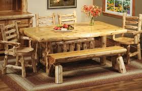 Log Outdoor Furniture by Cottage Cedar Log Dining Table 15110 Fireside Lodge Furniture