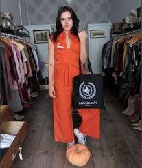 Orange Prison Jumpsuit Halloween Costume Vintage Stores Minute Halloween Costumes Racked Ny