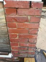 Cement Mix For Pointing Patio by Repairing And Repointing Brick Foundation Building Moxie