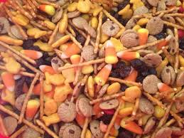 fall trail mix i use fall colored m u0026m u0027s gold fish cheese