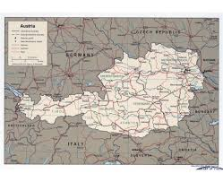 Maps Of Italy Detailed Map by Maps Of Austria Detailed Map Of Austria In English Tourist Map