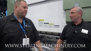 sterling machinery at westec 2017 machine tool show piranha press