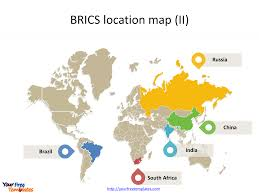 Maps For Create Maps For Brics Template Free Powerpoint Templates