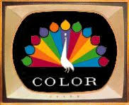 getting a color tv was a big deal remember the color peacock