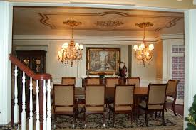 Cheap Ceiling Medallions by Modern Ceiling Medallion Dining Room Traditional With Accent