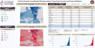 Election Interactive Map by Ace Accountability In Colorado Elections
