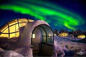 norway northern lights igloo kakslauttanen arctic resort official website