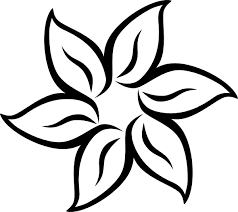 free printable stencil patterns flower clip art vector