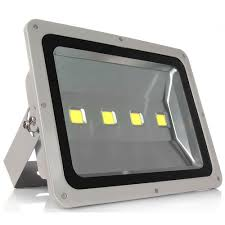 led flood light 200w white shell ac85 265v waterproof ip65