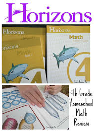 horizons math review teach beside me