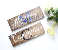 house warming presents large wooden house sign 30 x 5 5 x 1 house warming gift est