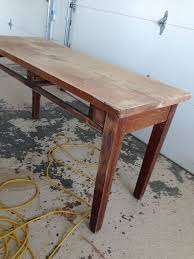 old library table beat up to kitchen island hometalk