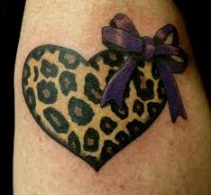 35 best cheetah print tattoo flower outlines images on pinterest