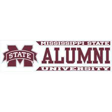 lsu alumni sticker mississippi state car decals mississippi state