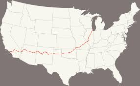 Route 66 Map California by Welcome To Route 66 Itaewon Route 66 Itaewon