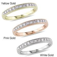 Pink Diamond Wedding Ring by Diamond Pink Wedding Rings For Less Overstock Com