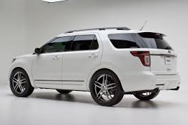 Ford Explorer White - 2012 ford explorer limited by dso eyewear exterior basf pearl tri