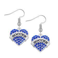 skyrim earrings skyrim 5 pairs zinc alloy rhodium plated soccer sports earrings