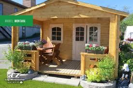 diy bunkie u0026 cottage building kits ez log ontario