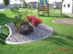 concrete curbing is a great choice to seperate parts of your lawn