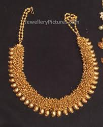 gold jewelry designs necklace images Traditional gold jewellery temple jewellery latest indian jewelry jpg