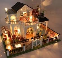 Sweet Coffee Shop France Style Diy Doll House 3d Miniature Dollhouse Store Reviews Online Shopping Dollhouse Store Reviews