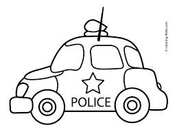 police car clipart black white clipartxtras