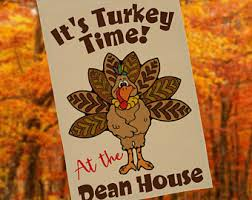 turkey yard etsy