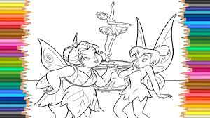 tinkerbell coloring pages disney fairies l coloring book l for
