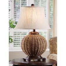 Wicker Light Fixture by Crestview Collection Wicker Table Lamp 227842 Lighting At