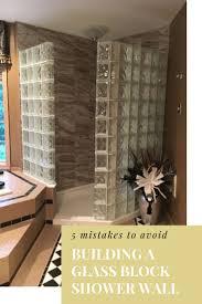 859 best glass block showers images on pinterest glass block