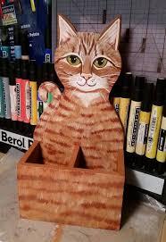cat pencil holder cat desk accessory pencil holder desk