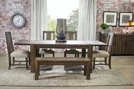 dining room table sets with bench dining room furniture mor furniture for less