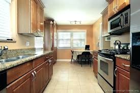 kitchen design ideas for small galley kitchens tiny galley kitchen design ideas ghanko