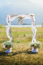 wedding arches rustic best 25 burlap wedding arch ideas on rustic wedding